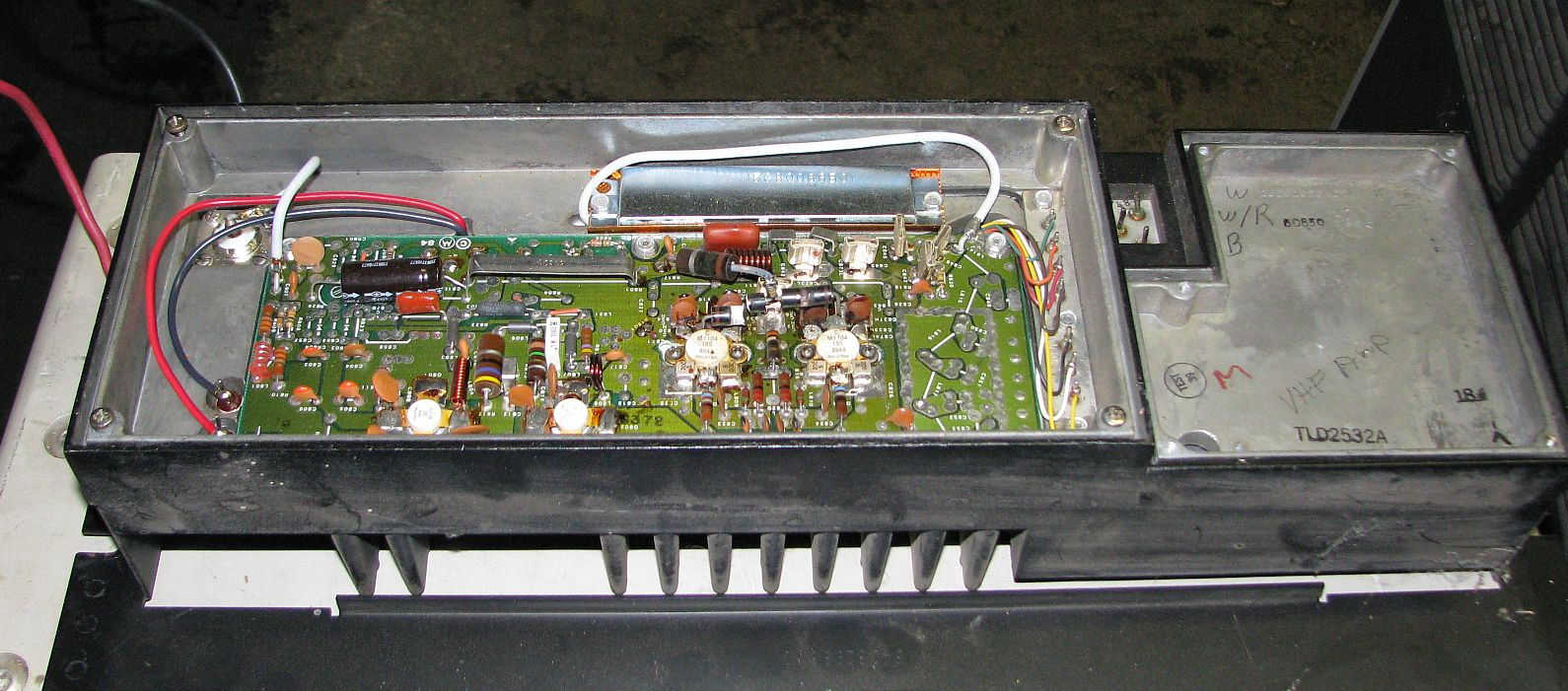 K6bj Uhf Msf5000 Vhf Amplifier With 30 Watts Power Amp
