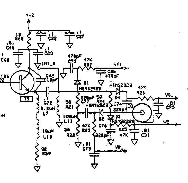 mfj 259 schematic diagram